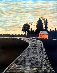 Staffan Schönberg - Evening road