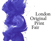 Bilde: Kunstverket Galleri at London Original Print Fair 2018